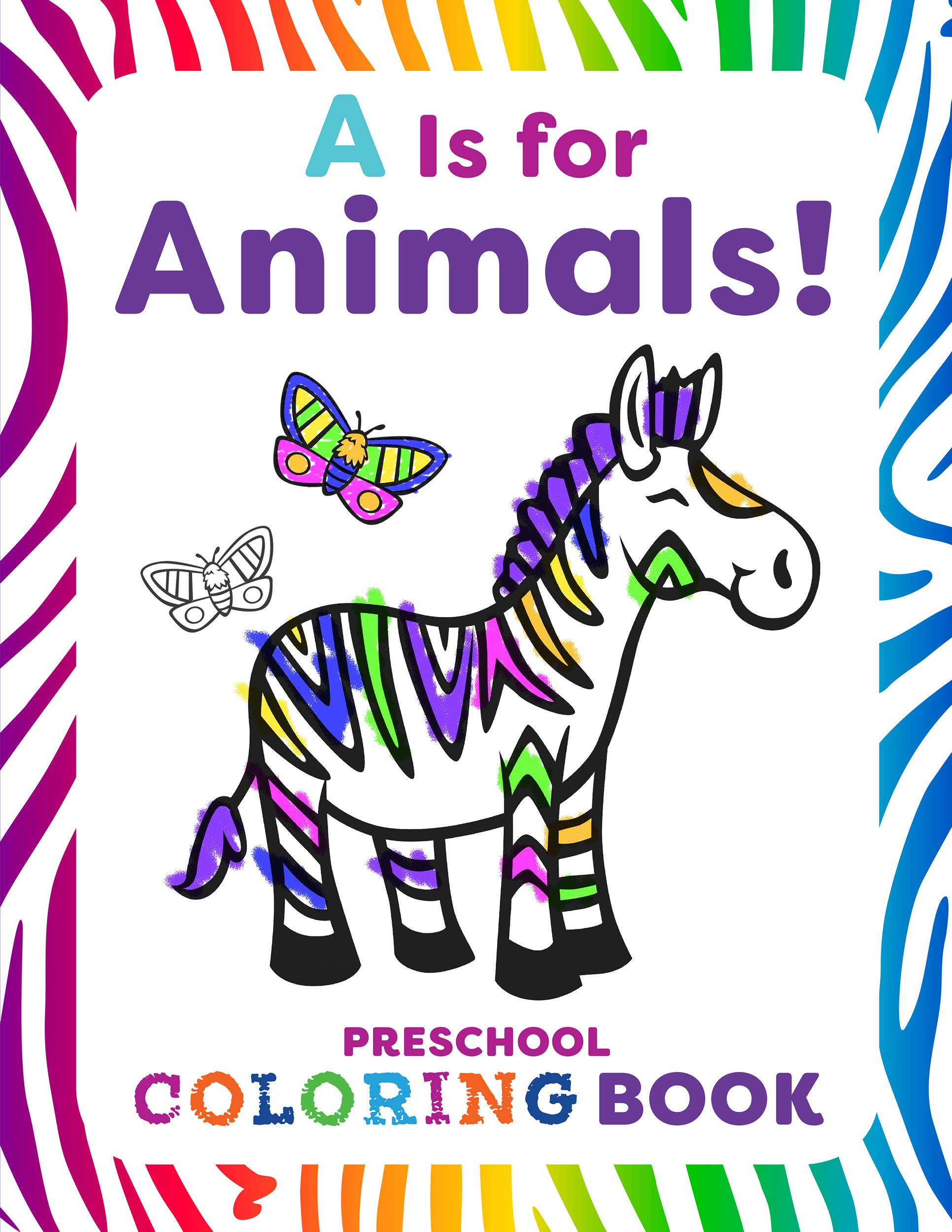 Animals Preschool Coloring Book product image