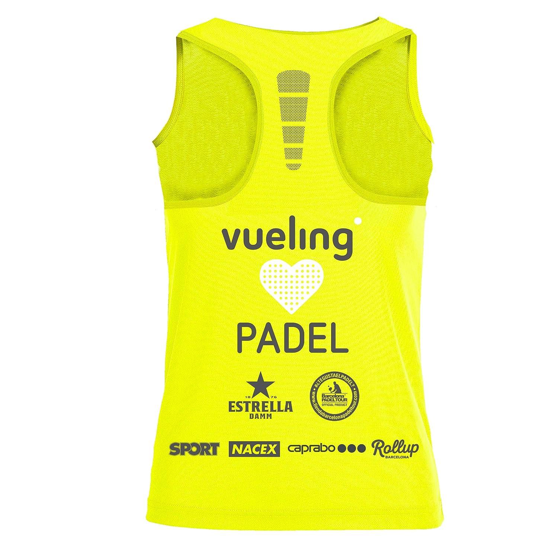 Camiseta de Tirantes Joma Vueling Cup Mujer: Amazon.es: Ropa y ...