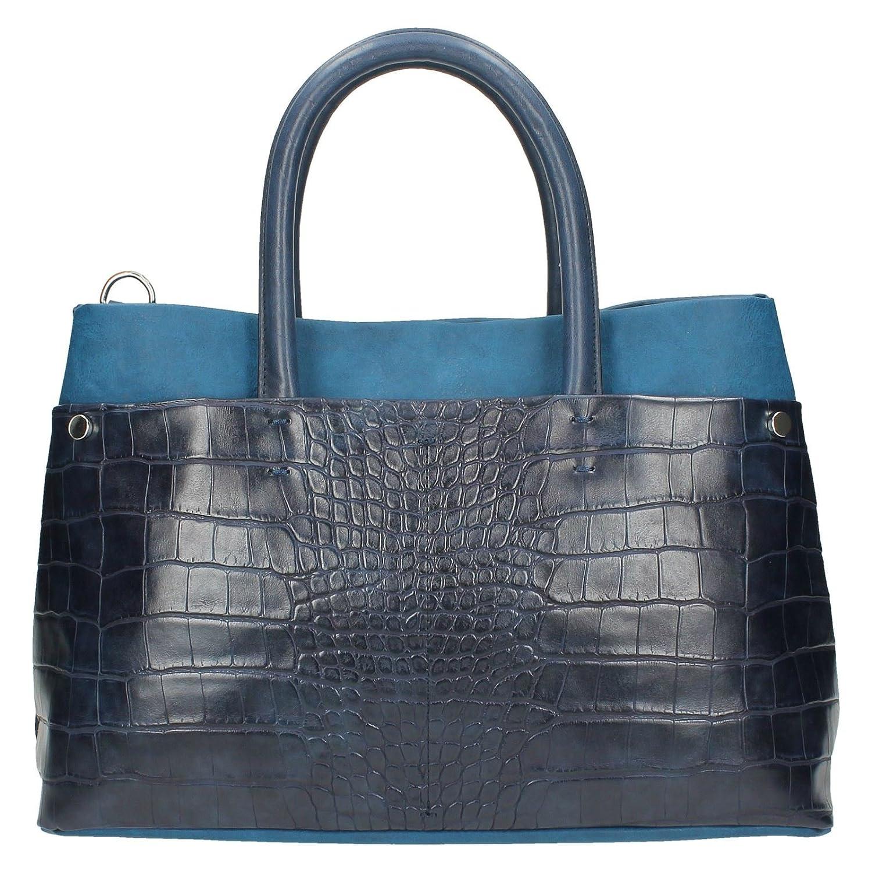 3e51de742 Clarks Maddington Way Dark Blue Croc Synthetic Womens Synthetic Bags   Amazon.co.uk  Shoes   Bags