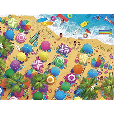 Buffalo Games - Fun in The Sun - 1500 Piece Jigsaw Puzzle: Toys & Games