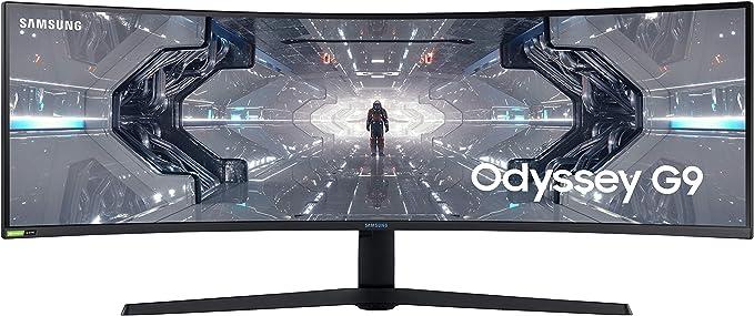 49 Zoll Samsung 144Hz Gaming-Monitore mit 1ms