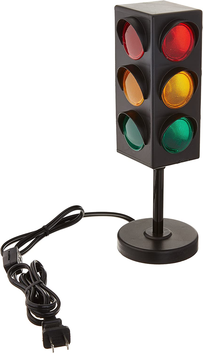 "8"" TRAFFIC LIGHT TABLE LAMP"