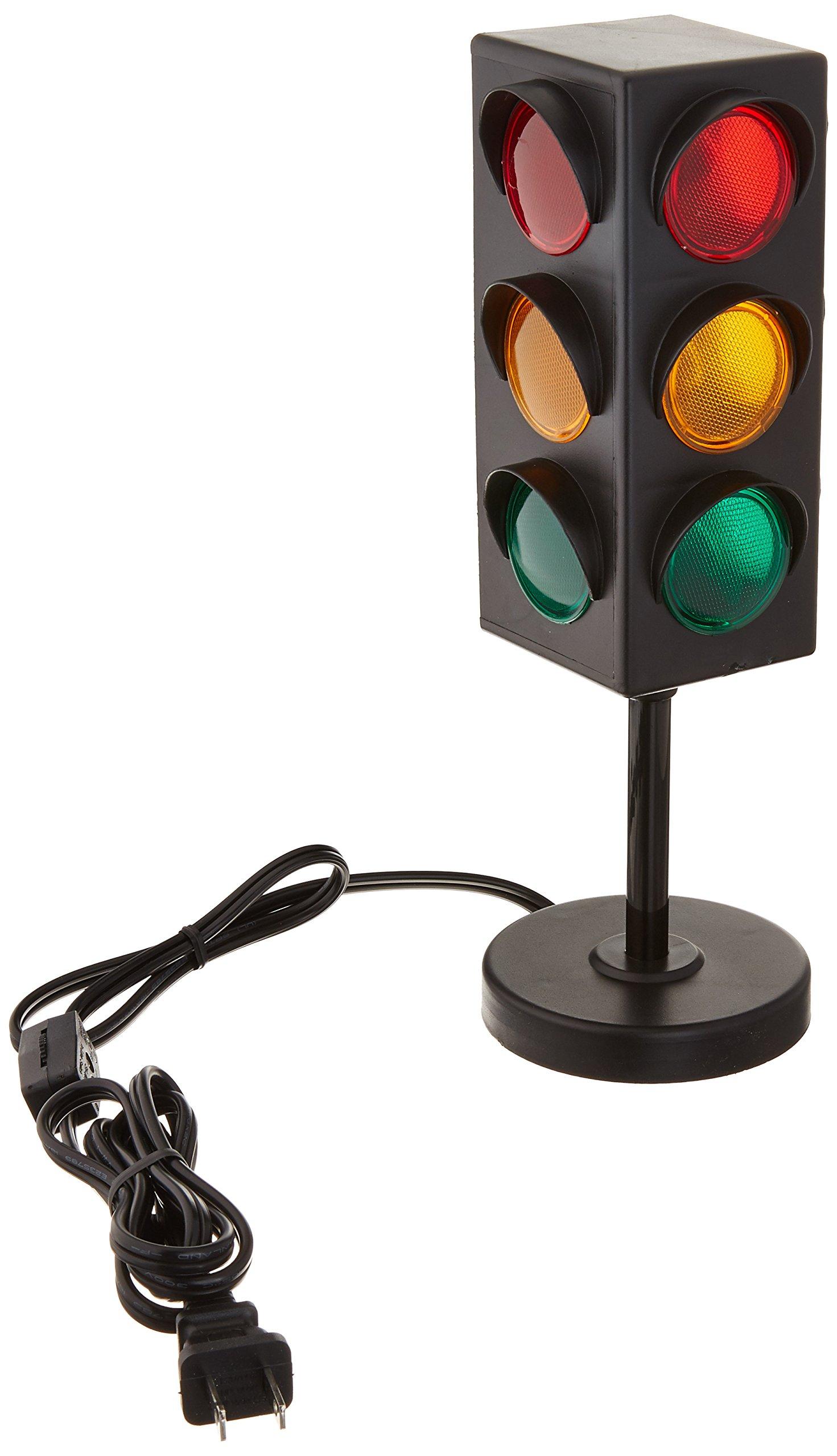 "8"" TRAFFIC LIGHT TABLE LAMP"
