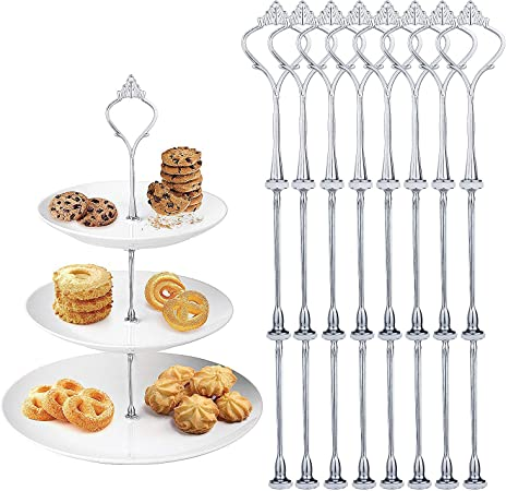 Czemo Supporto Per Vassoi Torte Set di 8 Piedistalli di ...