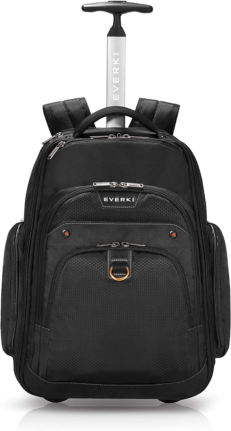 "Everki Atlas Wheeled Backpack EKP122 Fits 13"" To 17.3"" Laptop"