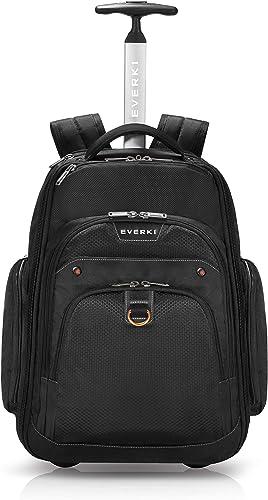 Everki Atlas Wheeled Backpack EKP122 Fits 13 To 17.3 Laptop