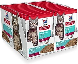 Hill's Science Diet Wet Cat Food Pouches, Adult, 2.8 oz Pouch