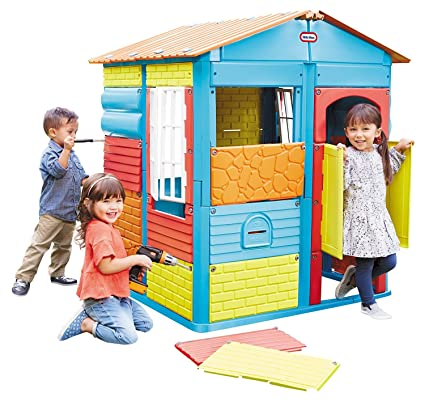 Buy Little Tikes Build A House Online At Low Prices In India Amazon In