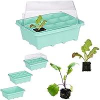 Relaxdays – Invernadero para habitación de 12 Plantas