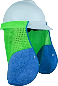 MegaTrue Hard hat neck sun shield for UV protection