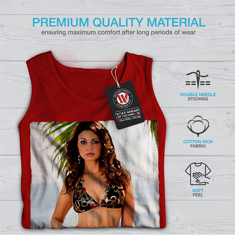 wellcoda Bikini Adult Sensual Mens Tank Top Woman Athlete Shirt