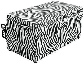 Etonnant Amazon.com: Big Joe 2 In 1 Bench Storage Ottoman, Zebra: Kitchen U0026 Dining