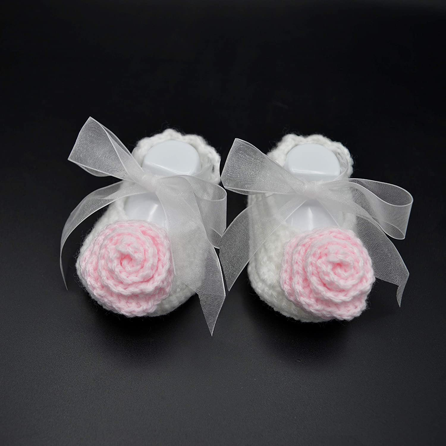 Baby Girl Christening Shoes, White