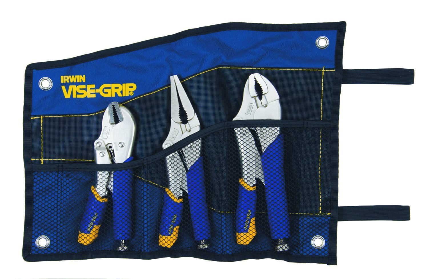 IRWIN Tools VISE-GRIP Locking Pliers Set, Fast Release, 3-Piece (76KBT) by Irwin Tools