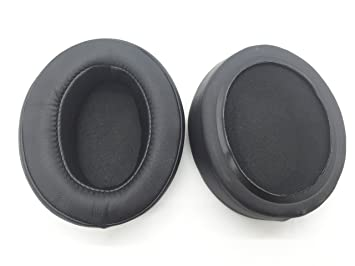 Reemplazo de cuero almohadillas más gruesas cubren almohada Sennheiser Momentum 2.0 M2 HD1 auriculares inalámbricos sobre la oreja (Negro): Amazon.es: ...