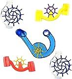 Marble Genius Spinning Wheels - Marble Run Accessory Add-On Set (5 pcs)