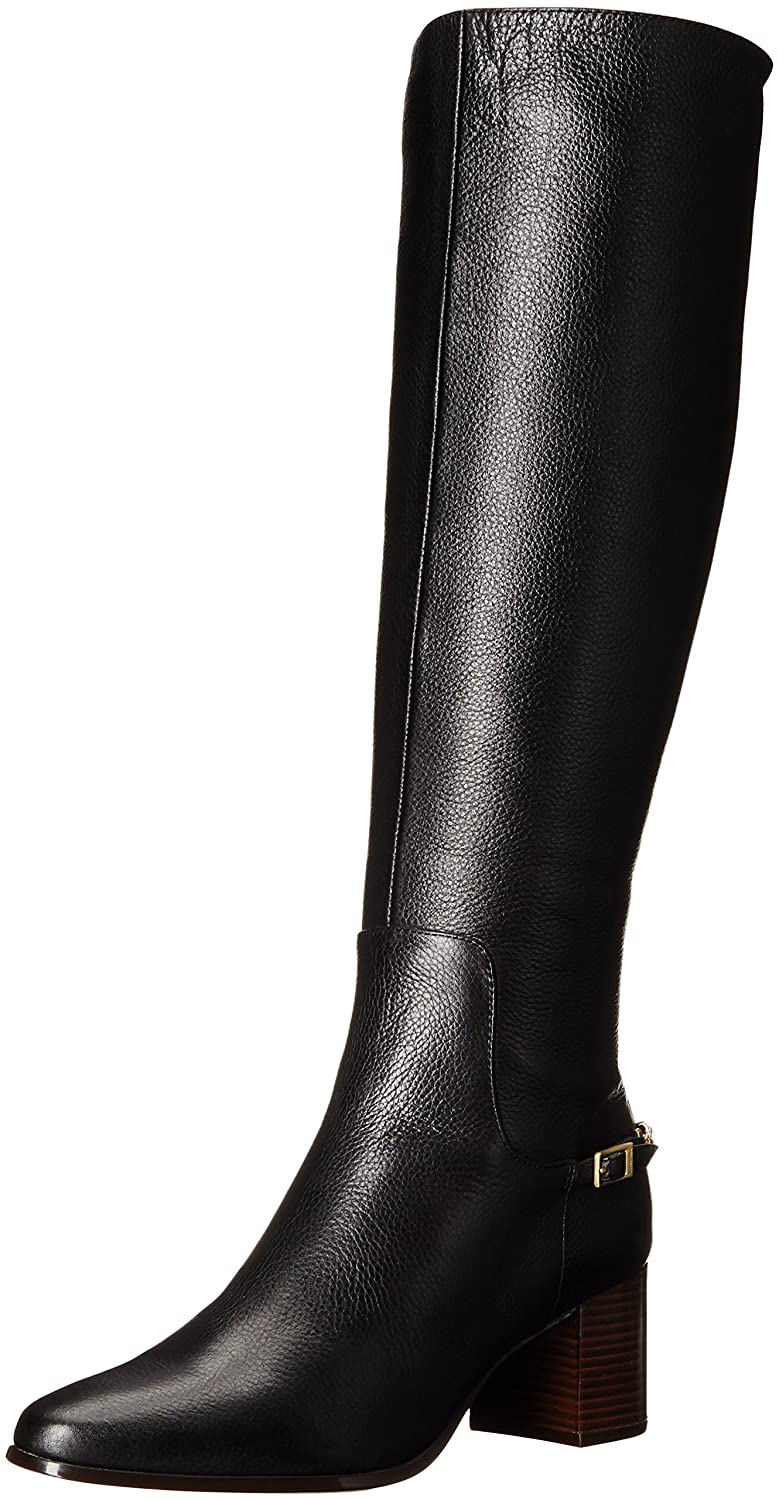 Calvin Klein Women's Fabrice Harness Boot B01DXOEOWE 6.5 B(M) US|Black