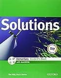 Solutions. Elementary. Student's book. Con espansione online. Per le Scuole superiori. Con Multi-ROM