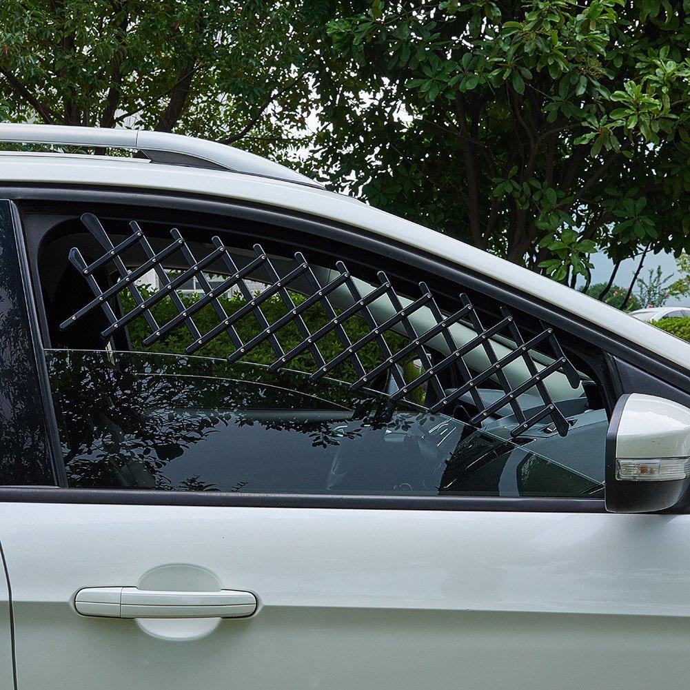 XianghuangTechnology Fenster-Vent Guard LKW /& SUV Universal Haustier Hund Welpen Welpen Gitter Sicher Auto Fenster Schutz Mesh f/ür Autos