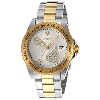 Invicta Womens 14730 Angel Analog Japanese-Quartz Two Tone Watch