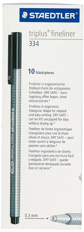 Staedtler - Matita Tradtion 110–2B 6B Confezione da 12 Nero 110-6B VE