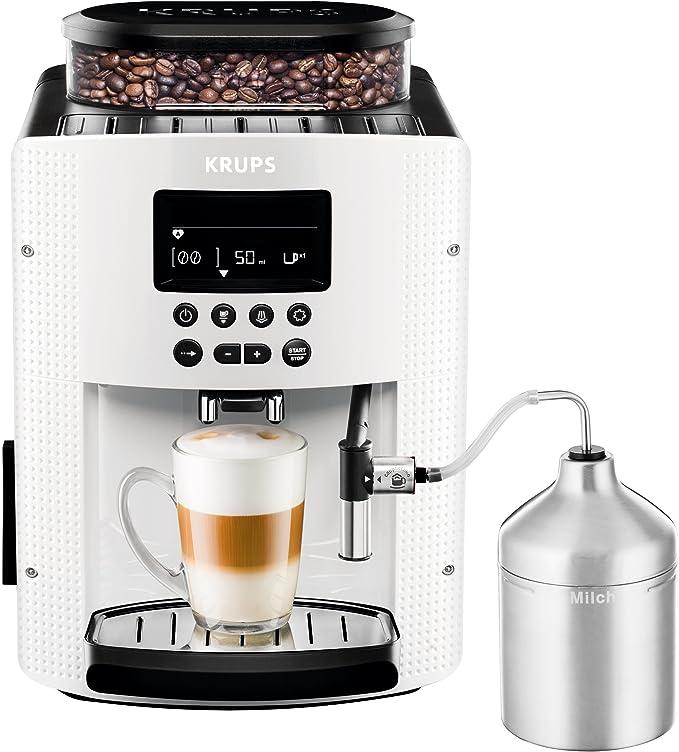 KRUPS Essential Máquina De Café Completa, 1450 W, 1.8 litros, Blanco: Amazon.es: Hogar