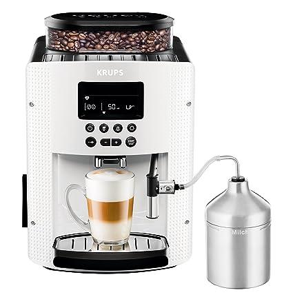 Krups Essential Máquina De Café Completa, 1450 W, 1.8 litros, Blanco