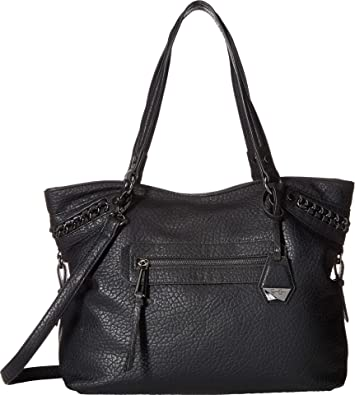 e9dd0966fac Amazon.com  Jessica Simpson Women s Maxie Tote Black 2 One Size  Shoes