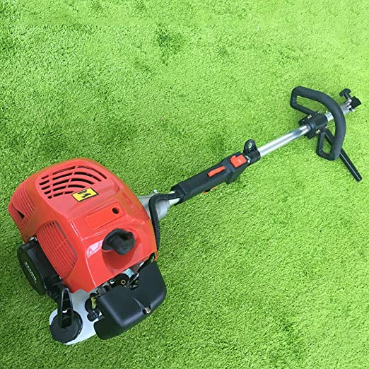 2.3HP 52CC Handheld Gas Power Sweeping Machines Driveways Dirt Cleaning Sweeper