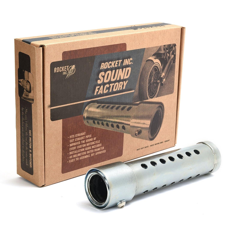 Sound Factory Auspuff-Schalld/ämpfer ROCKET INC