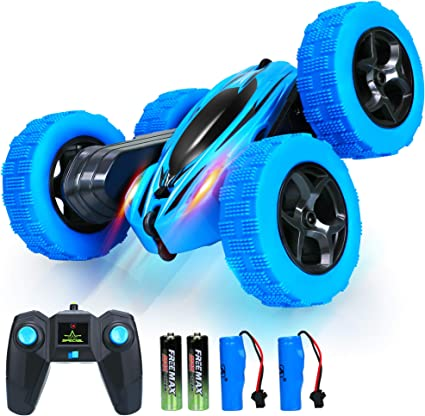 360° Rotatable 2.4G Off Road Remote Control Stunt RC Car 4WD 7mph High Speed