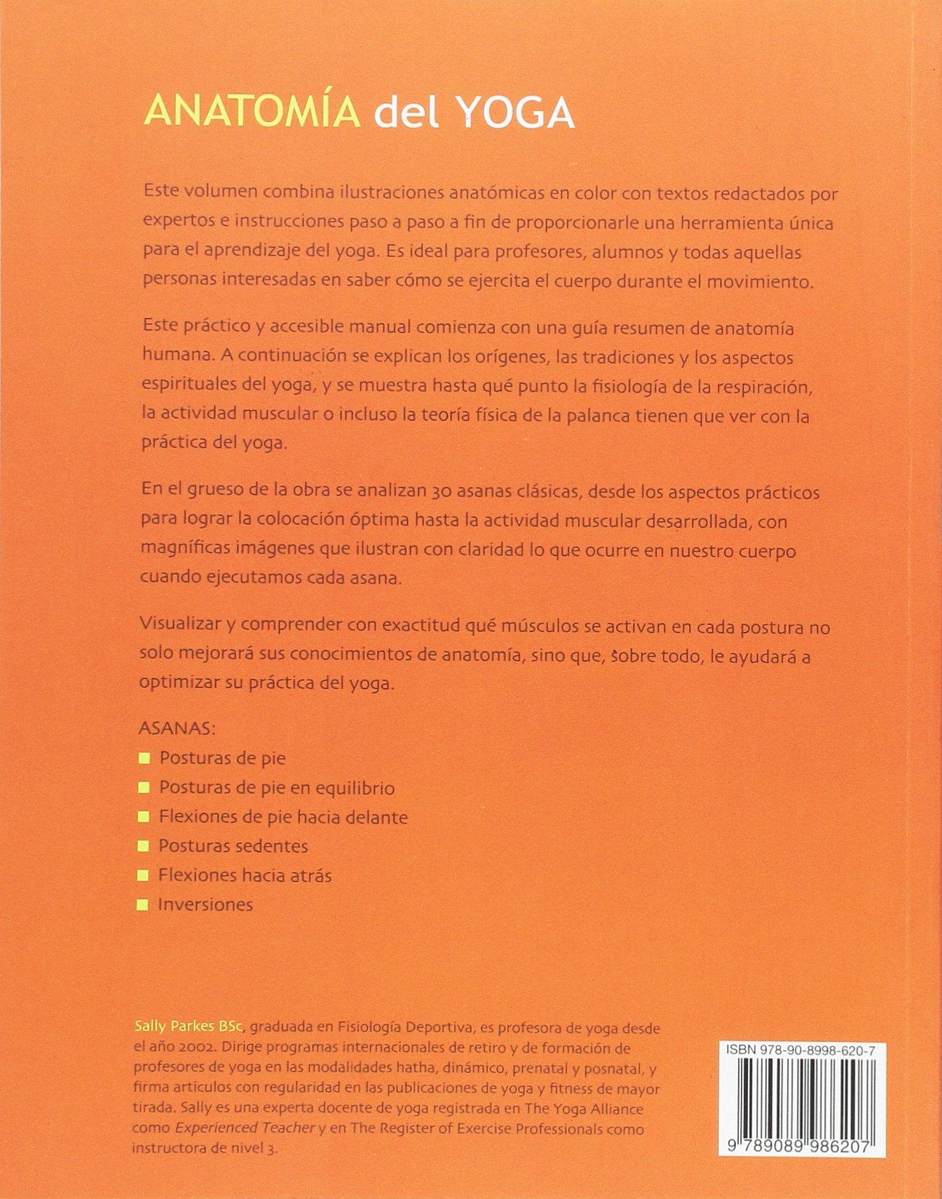 Anatomía del yoga: Varios: 9789089986207: Amazon.com: Books