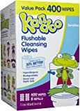 Pampers Kandoo Flushable Toilet Wipes Sensitive Hypoallergenic 400 Wipes Refill Unscented