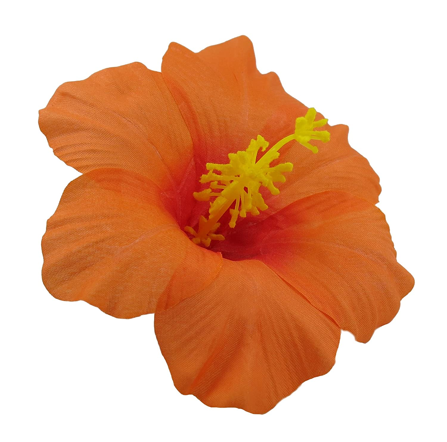 Amazon Hawaiian Hibiscus Flower Hair Clip Red Beauty