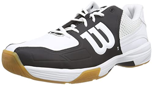 Wilson Recon Black, Zapatillas de tenis, Unisex adultos, Negro / Blanco, 44 EU: Amazon.es: Zapatos y complementos