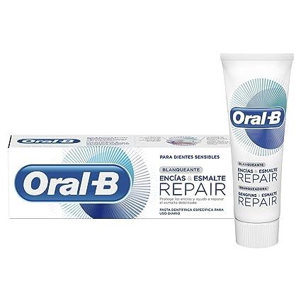 Oral-B Encías & Esmalte Repair Blanqueante, Pasta Dentífrica, 75 ml, paquete