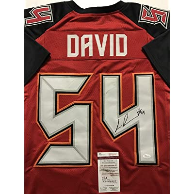 19d461bf3 Lavonte David Signed Jersey - Red COA - JSA Certified - Autographed NFL  Jerseys