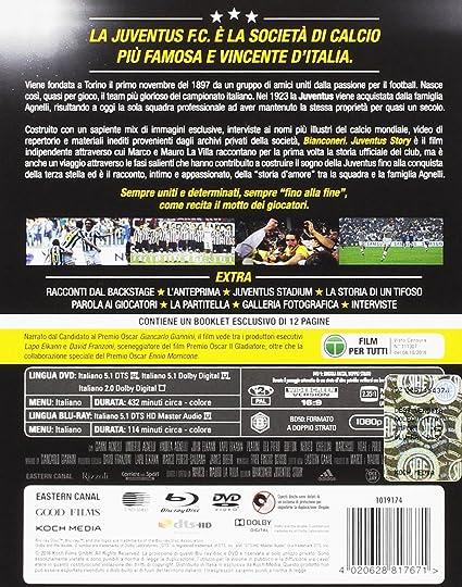 Preferenza Bianconeri Juventus Story Steelbook Numerata - Esclusiva Amazon  AQ02