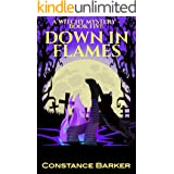 Down in Flames (Witches Be Crazy Cozy Witch Mystery Series Book 5)