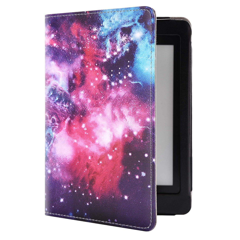 YuanZhu Kindle Paperwhite E-Reader Funda,Estuche Protector de Cuero sint/ético con funci/ón de Espera y Reposo de autom/óvil para el Lector electr/ónico  Kindle Paperwhite