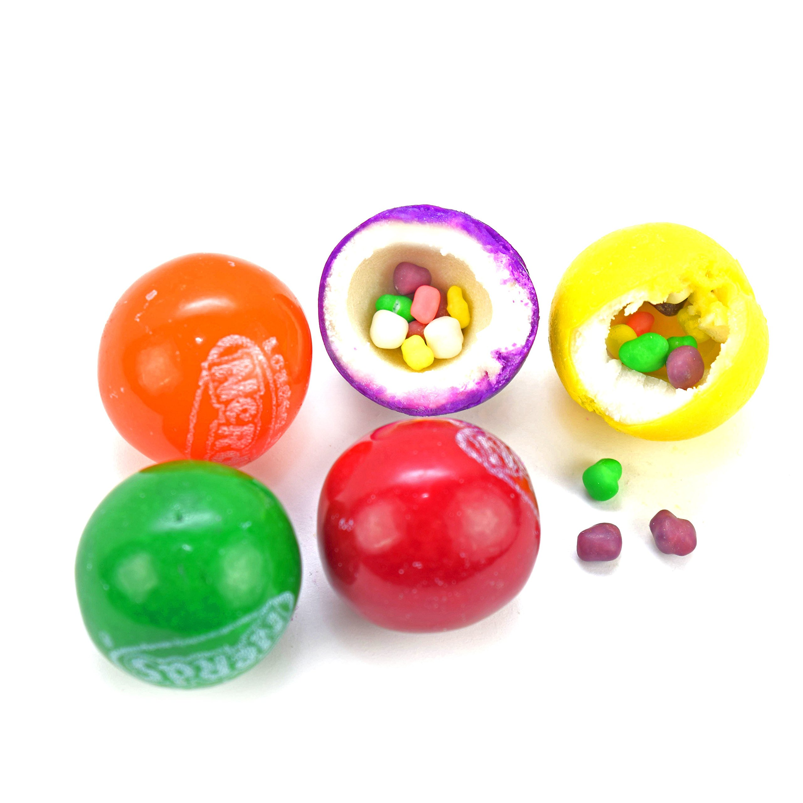 NERDS Filled Gumballs in Assorted Flavors - 850 Count With Vending Display by AB