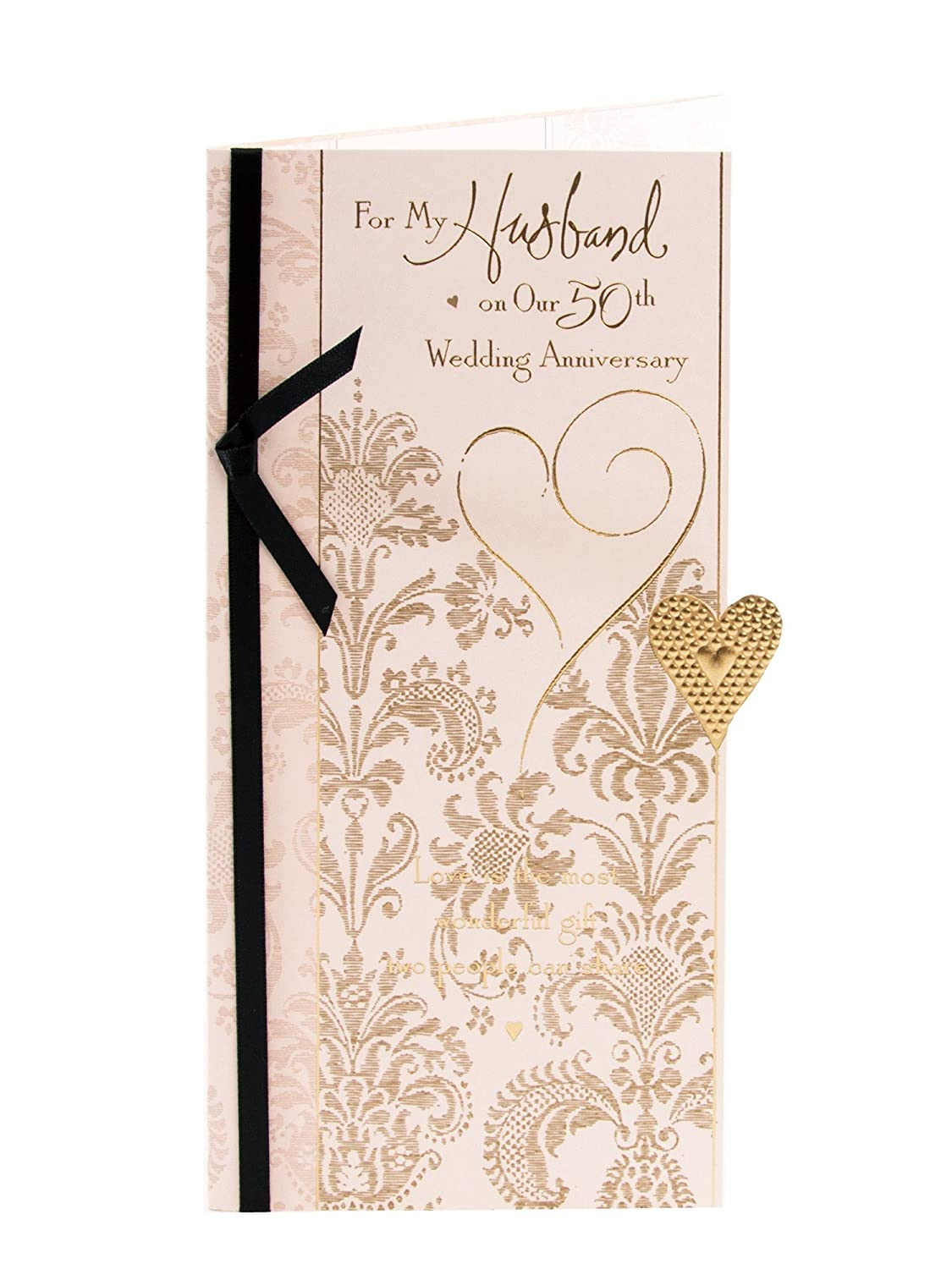 Amazon Husband 50th Anniversary Golden Anniversary Greetings