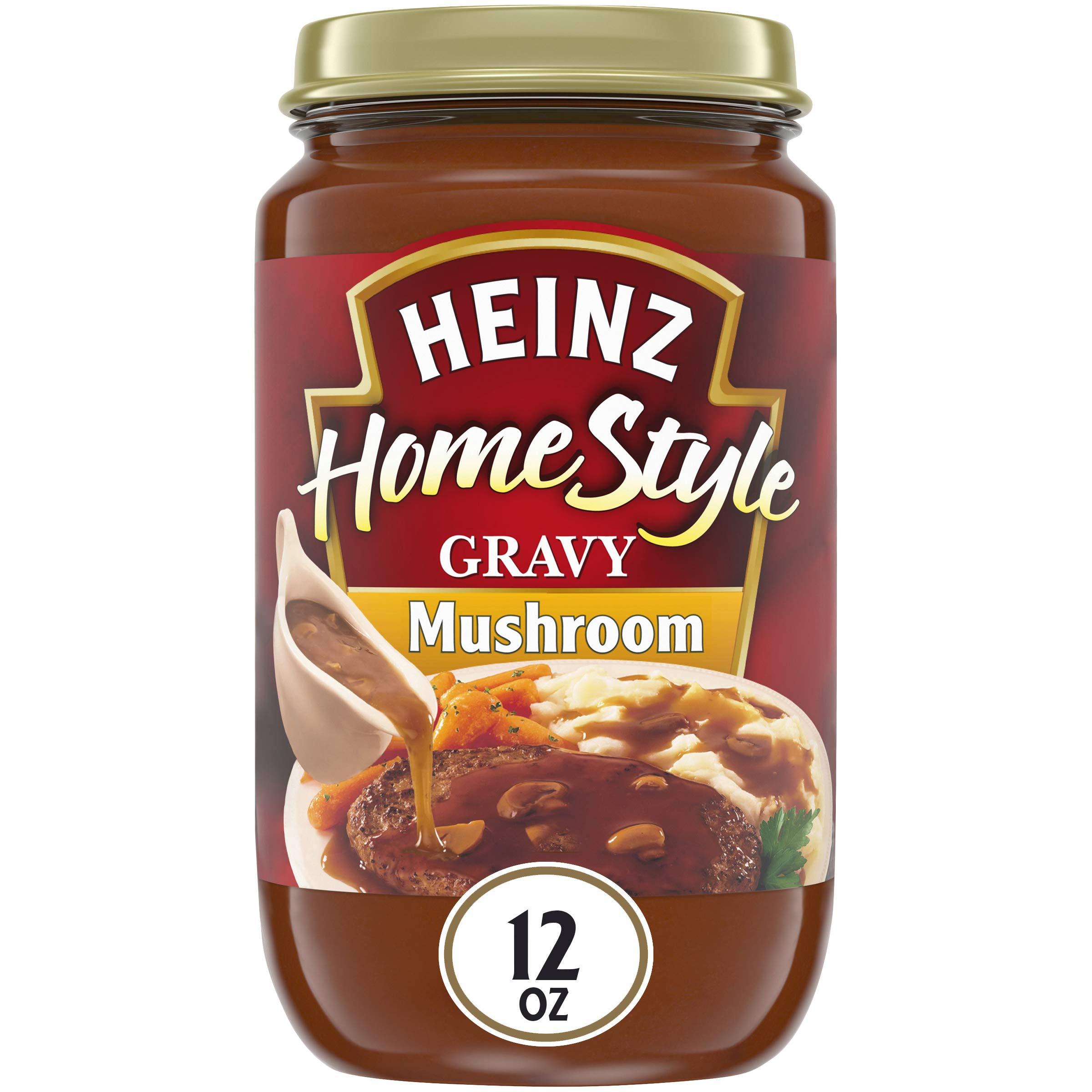Heinz Homestyle, Mushroom Gravy, 12 oz