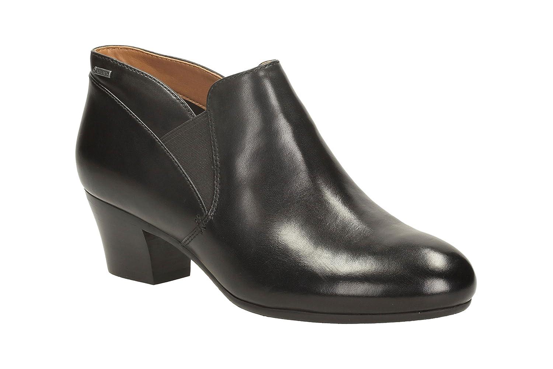 8b01116450251b Clarks Women's Melanie Me GTX Loafers Black Size: 5 UK: Amazon.co.uk ...