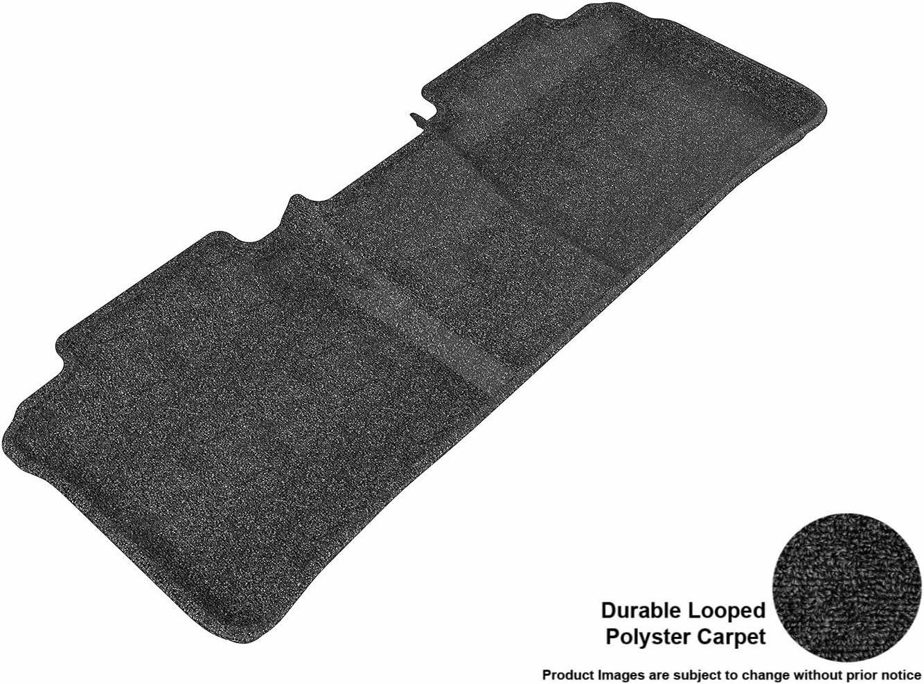 Gray Classic Carpet 3D MAXpider Front Row Custom Fit Floor Mat for Select Toyota Highlander Models