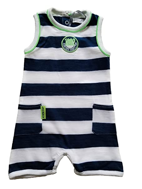 be84eacaa Push2Posh Newborn Baby Boy Sleeveless Romper Bodysuit One-Piece Outfits (1  Month)