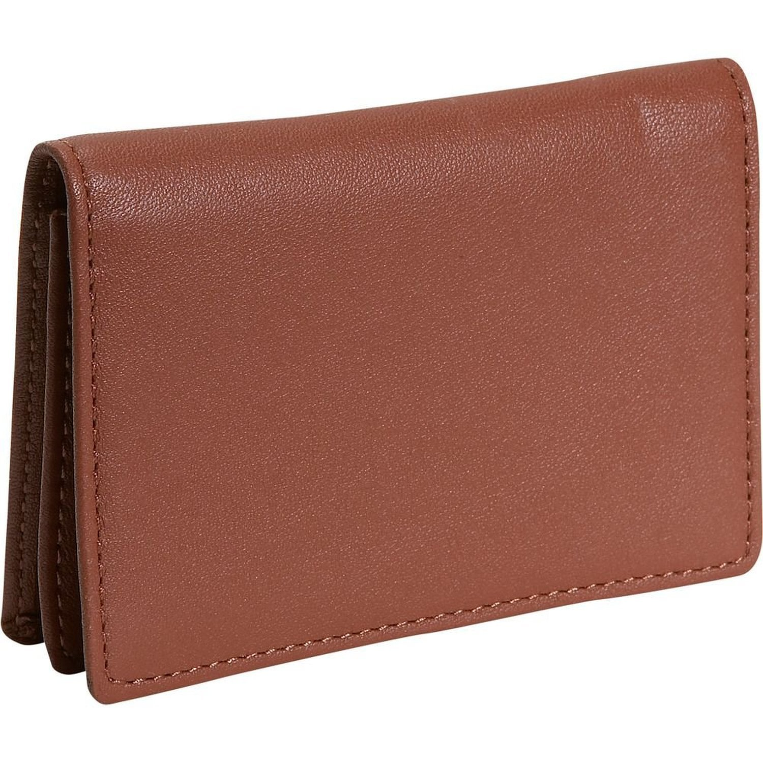 Royce Business Card Holder - Leather - Tan
