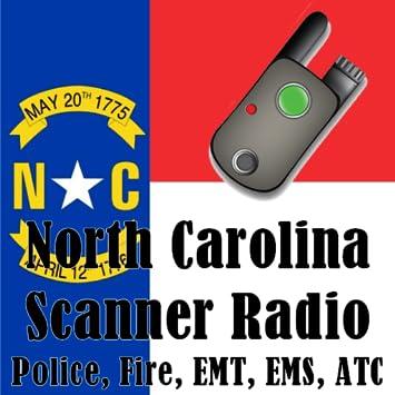 North Carolina Scanner Radio - Police, Fire, EMS