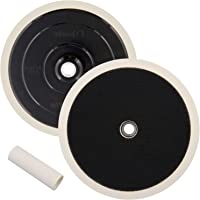 TCP Global Brand 7 Grip Mount Hook & Loop Universal Polisher Buffer Backing Plate Pad - Attach Foam Wool Buff Polishing…