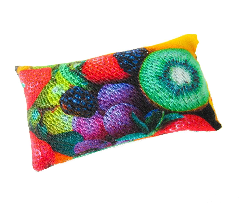 Nakpunar Fruits Emery Pincushion Keep Your Needles Clean /& Sharp